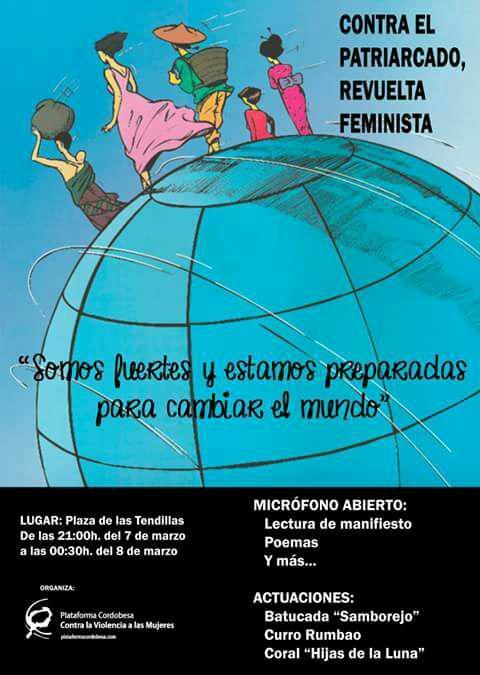 Concentración Feminista. Contra el patriarcado, revuelta feminista @ Plaza de las Tendilla