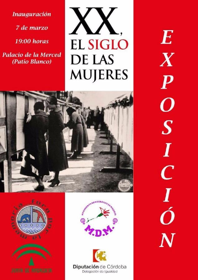 """Exposición: """"XX El Siglo de las Mujeres"""" @ Palacio de la Merced"""