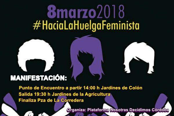 Manifestación Huelga Feminista @ Jardines de la Agricultura
