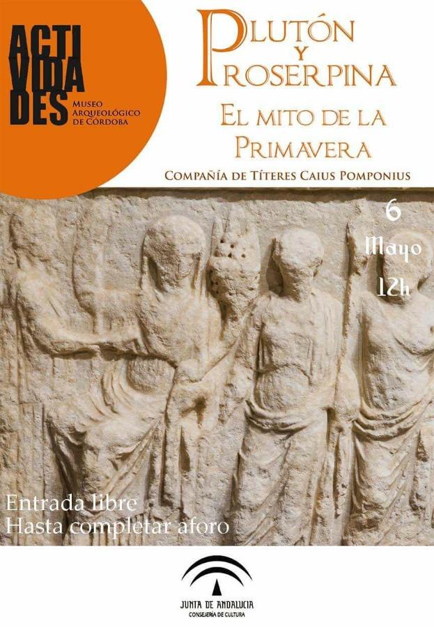 """Títeres: """"Plutón y Proserpina. El mito de la primavera"""" @ Museo Arqueológico"""