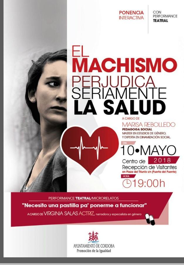 """Ponencia y performance: """"El machismo perjudica seriamente la salud"""" @ Centro de Recepción de Visitantes"""