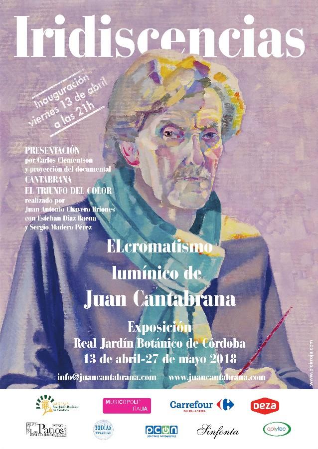"""Exposición pintura """"Iridiscencias"""". El cromatismo lumínico de Juan Cantabrana @ Jardín Botánico de Córdoba"""