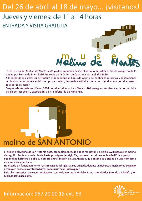 Museo Molino de Martos y Molino de San Antonio @ Orillas del Guadalquivir